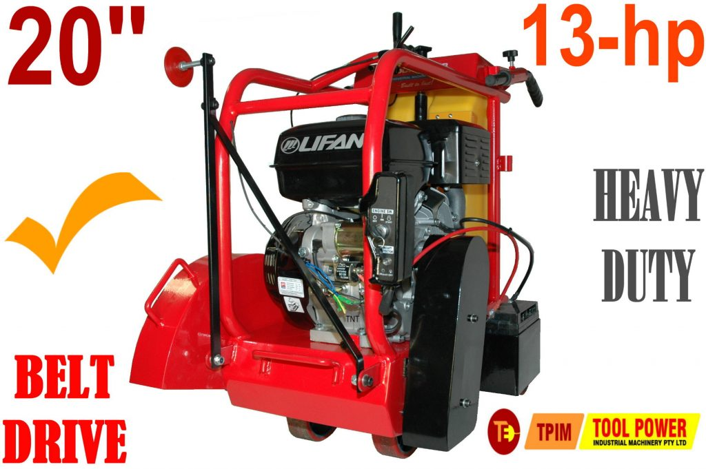 """Concrete saw 20"""" TOOL POWER 13-hp electric start"""