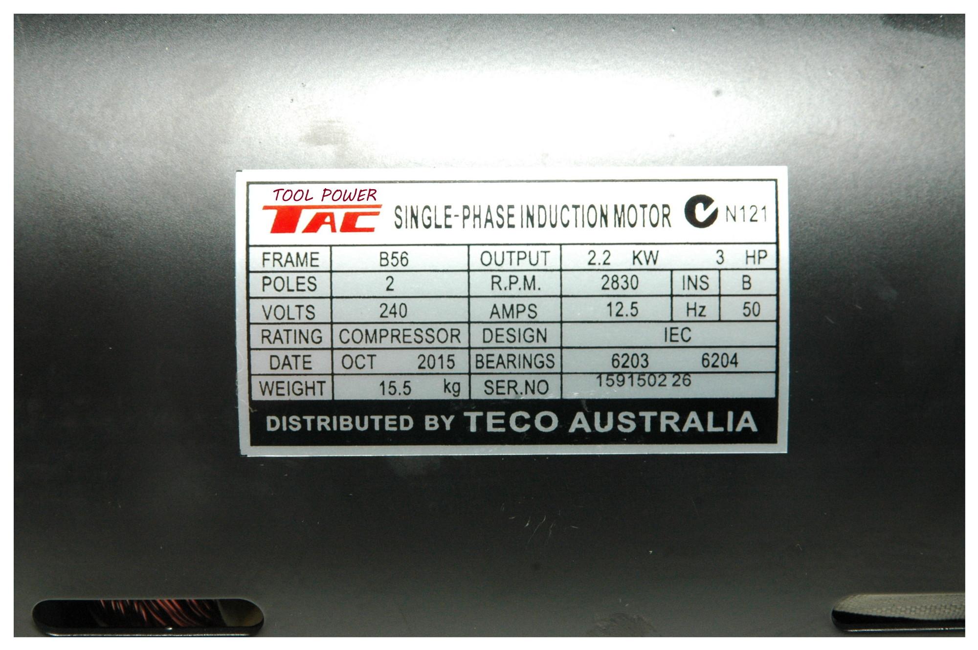 Electric Motor 3-hp X 240v 2800rpm Branded Item+++-1706