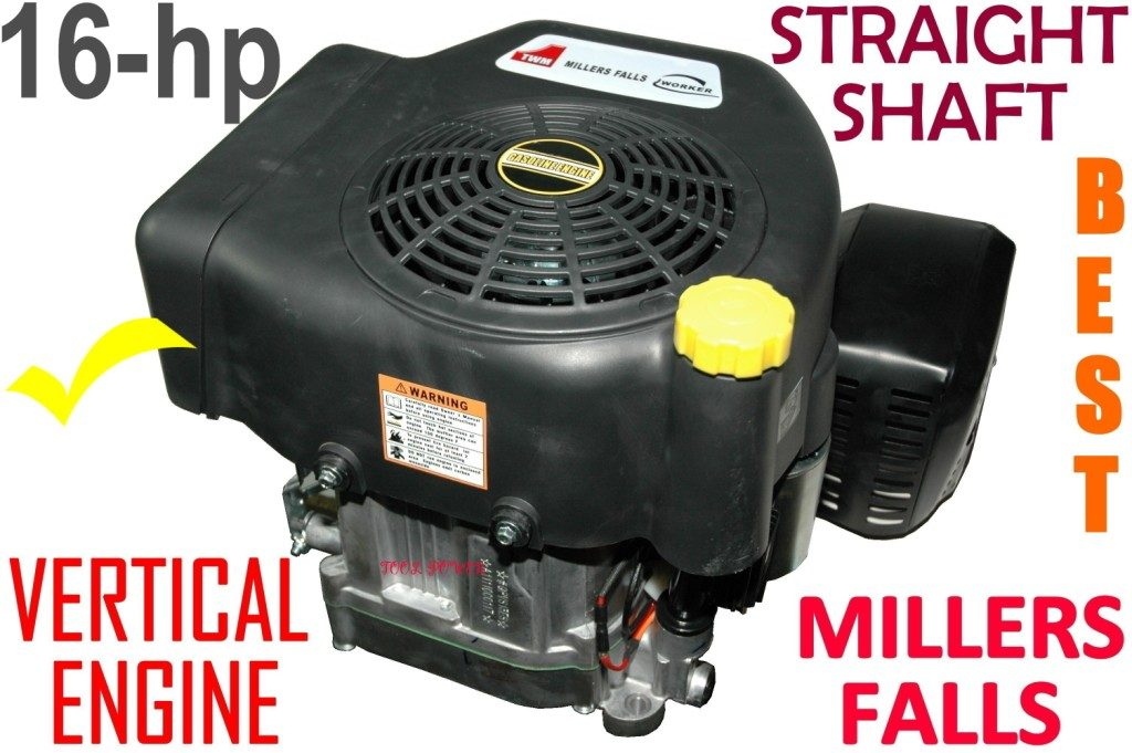 Engine Millers Falls 16-hp Vertical Straight Shaft*****