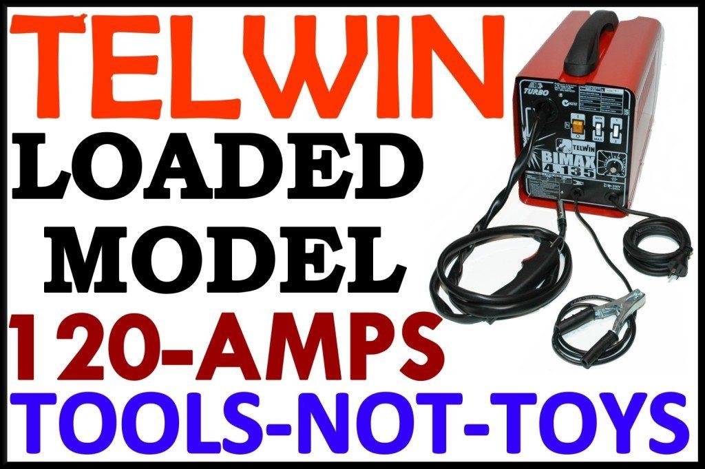 Mig Welder TELWIN 135 Portable European Quality+++