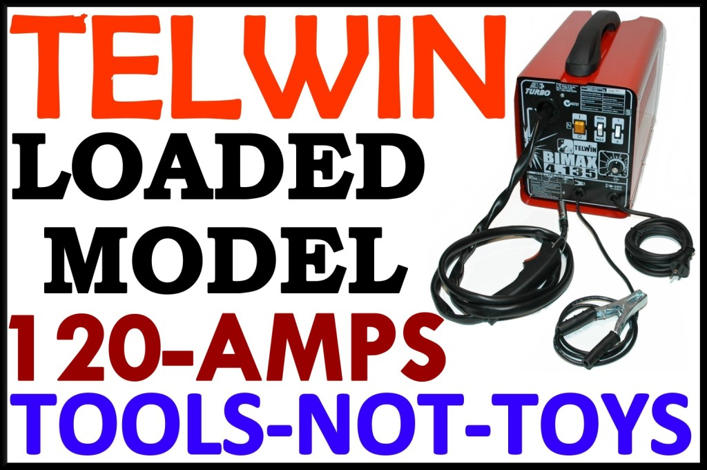 Mig Welder TELWIN 135 Portable and gasless
