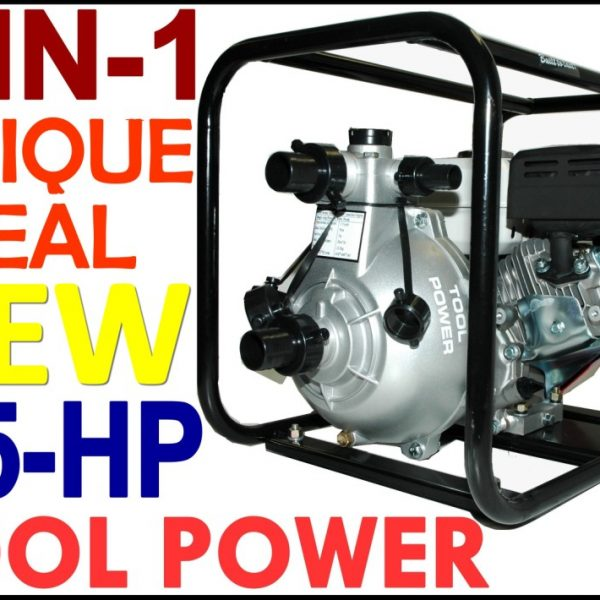 Fire fighting & water pump 6.5-hp