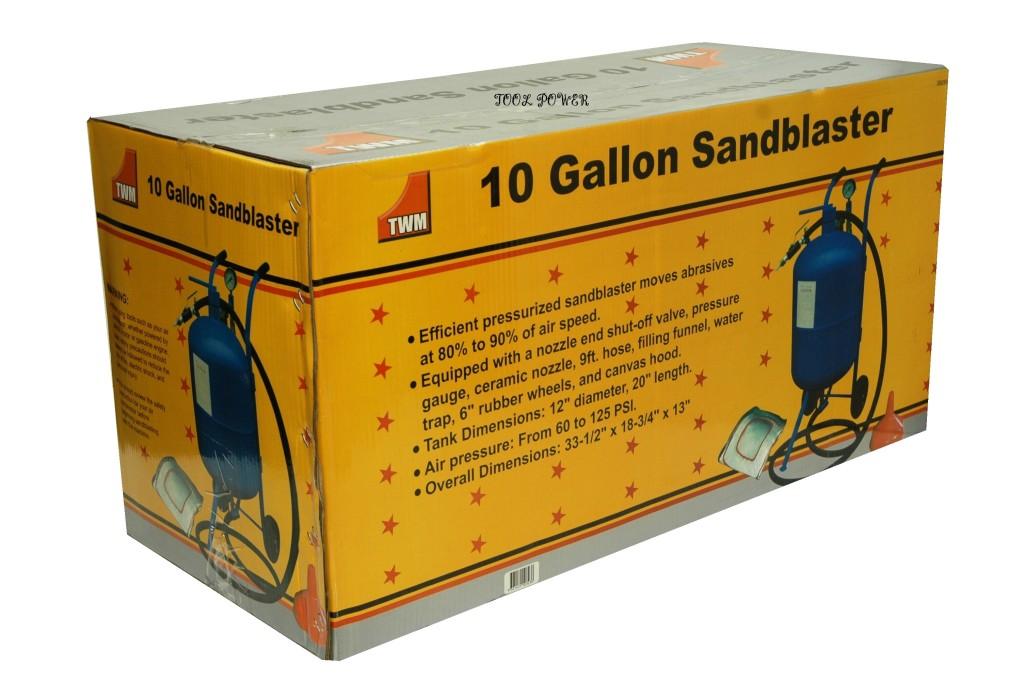 TWM sandblasting kit