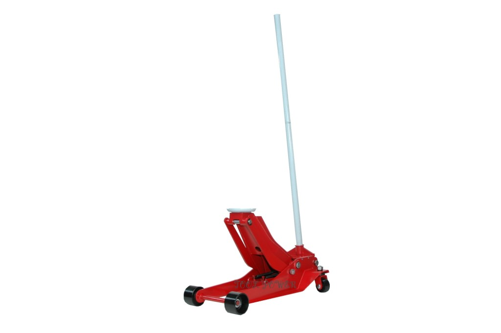 Hydraulic trolley jack low profile