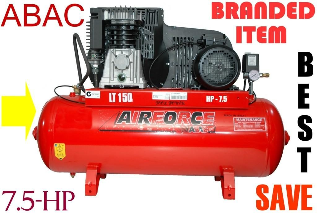 Compressor ABAC 7.5-hp TWO STAGE High output type+