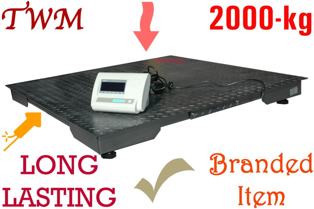 Pallet Floor Scale 2 ton 1200 x 1200mm
