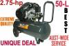 Compressor ROSS 2.75-hp X 50L Twin piston