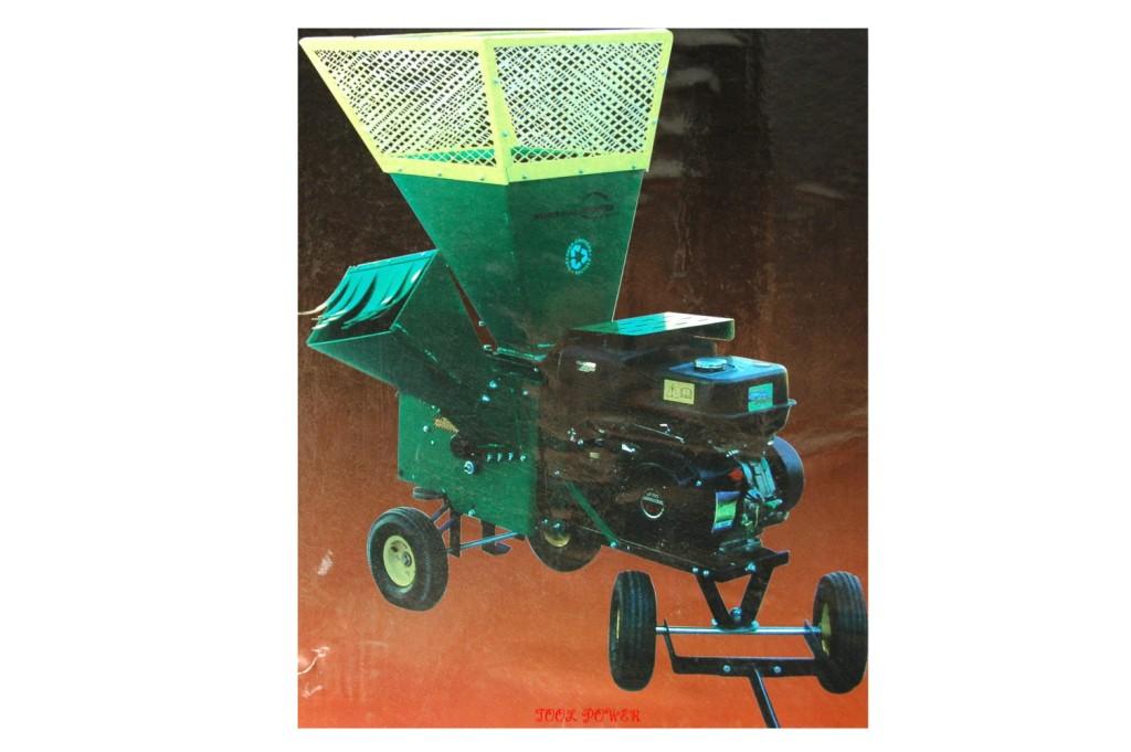 Shredder & Chipper TWM 13-hp 4-wheeler, TOWABLE+++-719