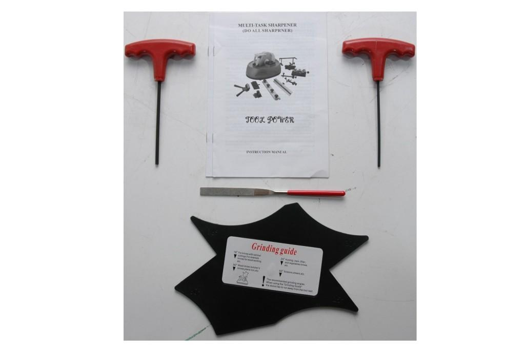 Multi Task (DO ALL) Sharpener wet type with many attach-680