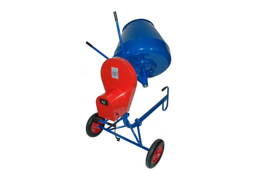 Cement Mixer 190-Litres, 650-watts = TRADE TYPE********-696