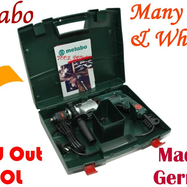Drill Metabo variable speed