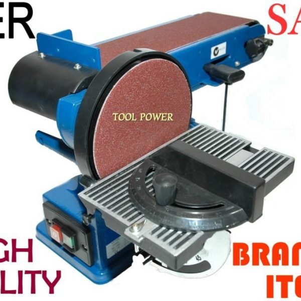 Linisher Belt and Disk 4 x 6 inch