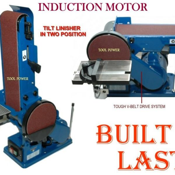 Belt and disc Linisher