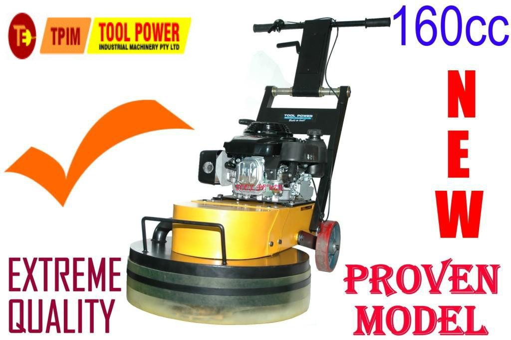 Concrete floor grinder belt drive unit, Standard Cutters save in long run