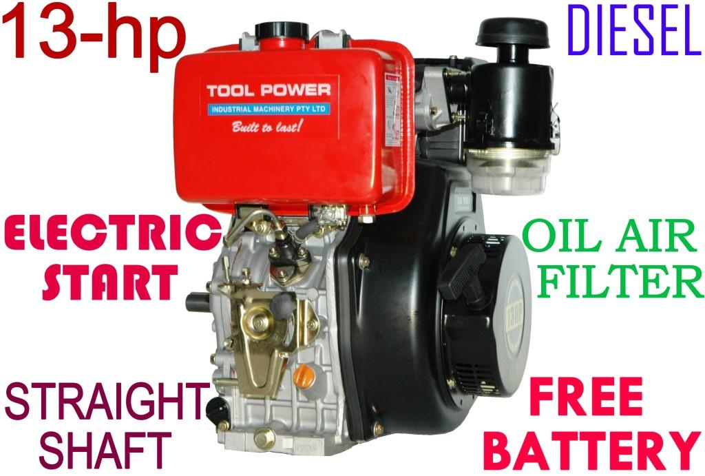Diesel engines 13 hp for sale Australia