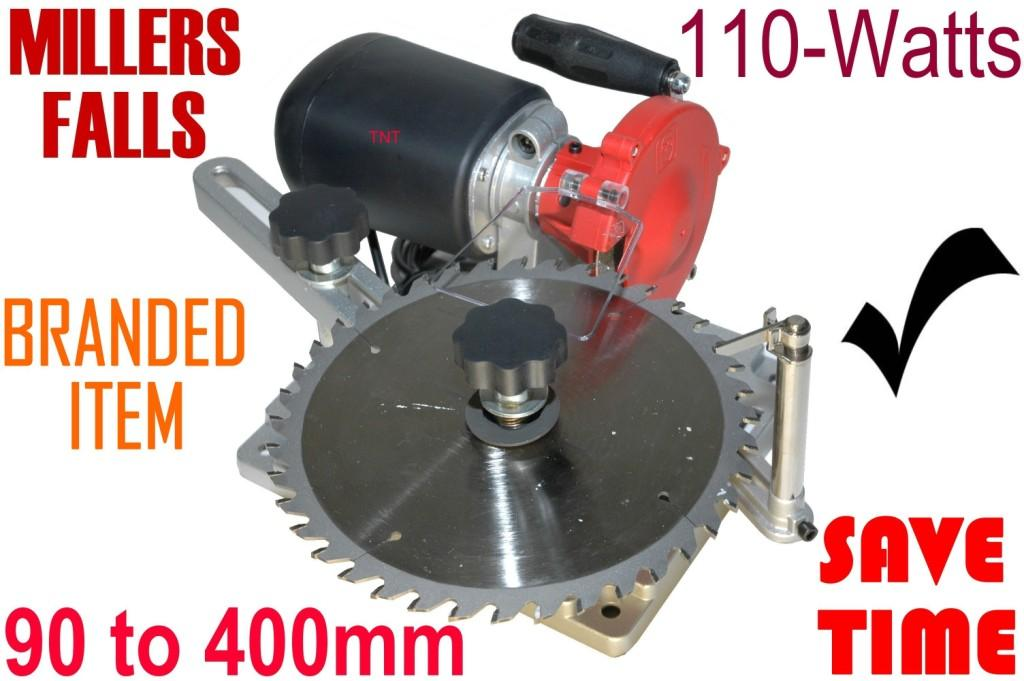 Blade Sharpener Millers Falls 90 to 400mm 240-volt-0