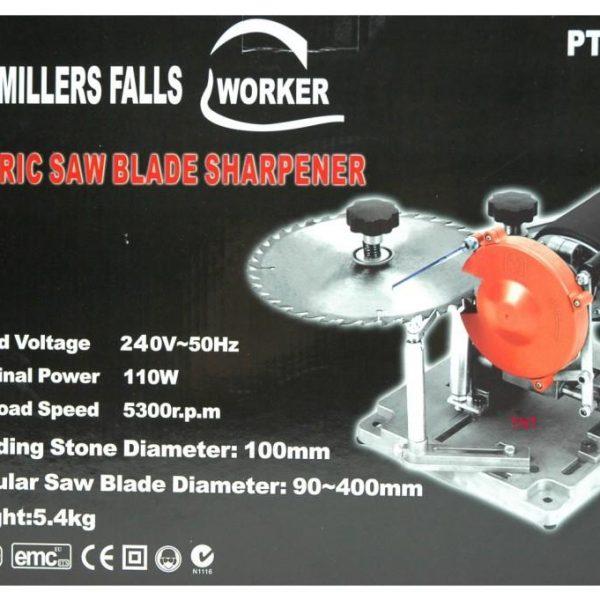 Blade Sharpener Millers Falls 90 to 400mm 240-volt-1066