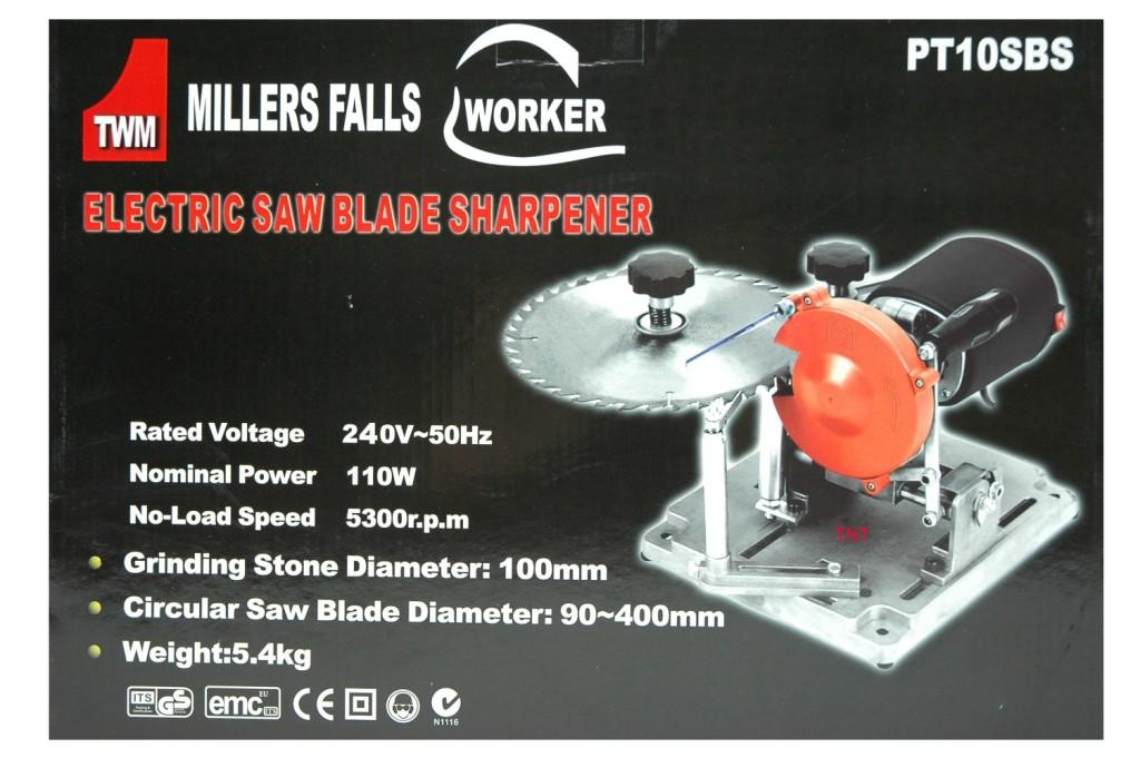 Blade Sharpener Millers Falls 90 to 400mm 240-volt-1066
