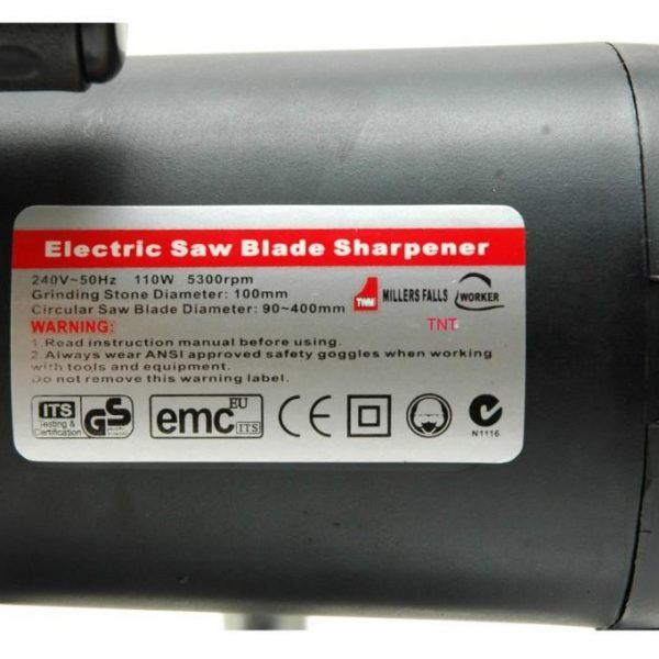 Blade Sharpener Millers Falls 90 to 400mm 240-volt-1069