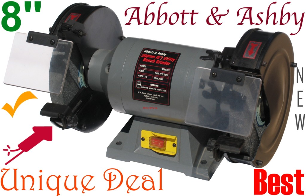 Fabulous Bench Grinder Abbott Ashby 8 Inch X 3 4Hp New Gmtry Best Dining Table And Chair Ideas Images Gmtryco