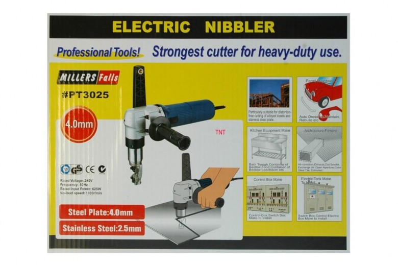 Nibbler Electric MILLERS FALLS Cuts 4.0-mm New****-1229