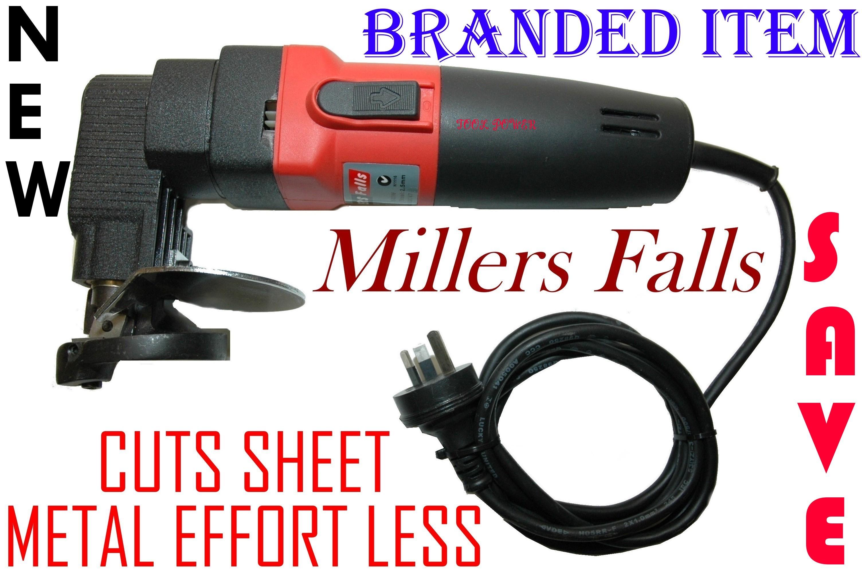 Metal Shear Millers Falls = CUTS SHEET METAL EFFORT LESS = Proven Model*********-0