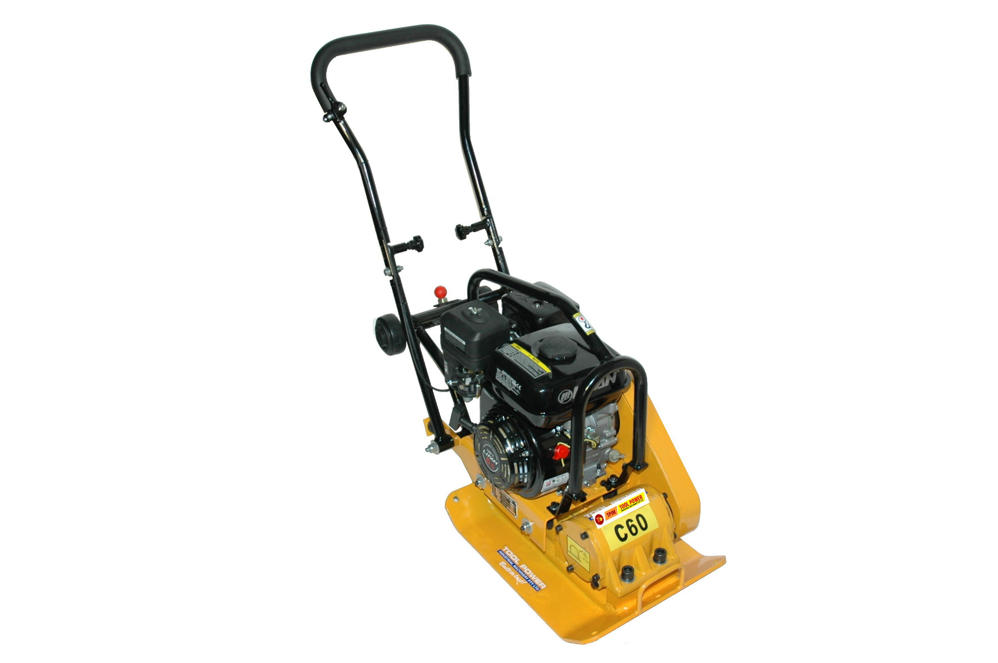 Compactor TOOL POWER 6.5hp, Folding Handles, trolley++-1342