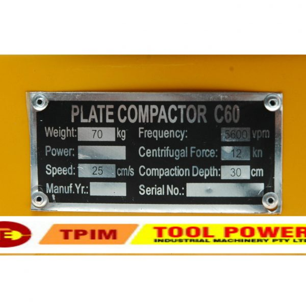 Compactor TOOL POWER 6.5hp, Folding Handles, trolley++-1345