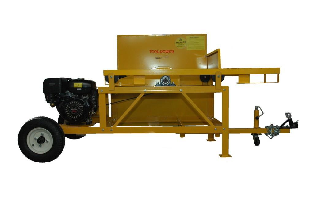 Fire wood log saw 36'' x 13-hp Low maintenance belt drive-1421