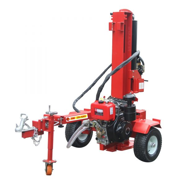 Log splitter TOOL POWER 60-ton, 15-hp Diesel-1440