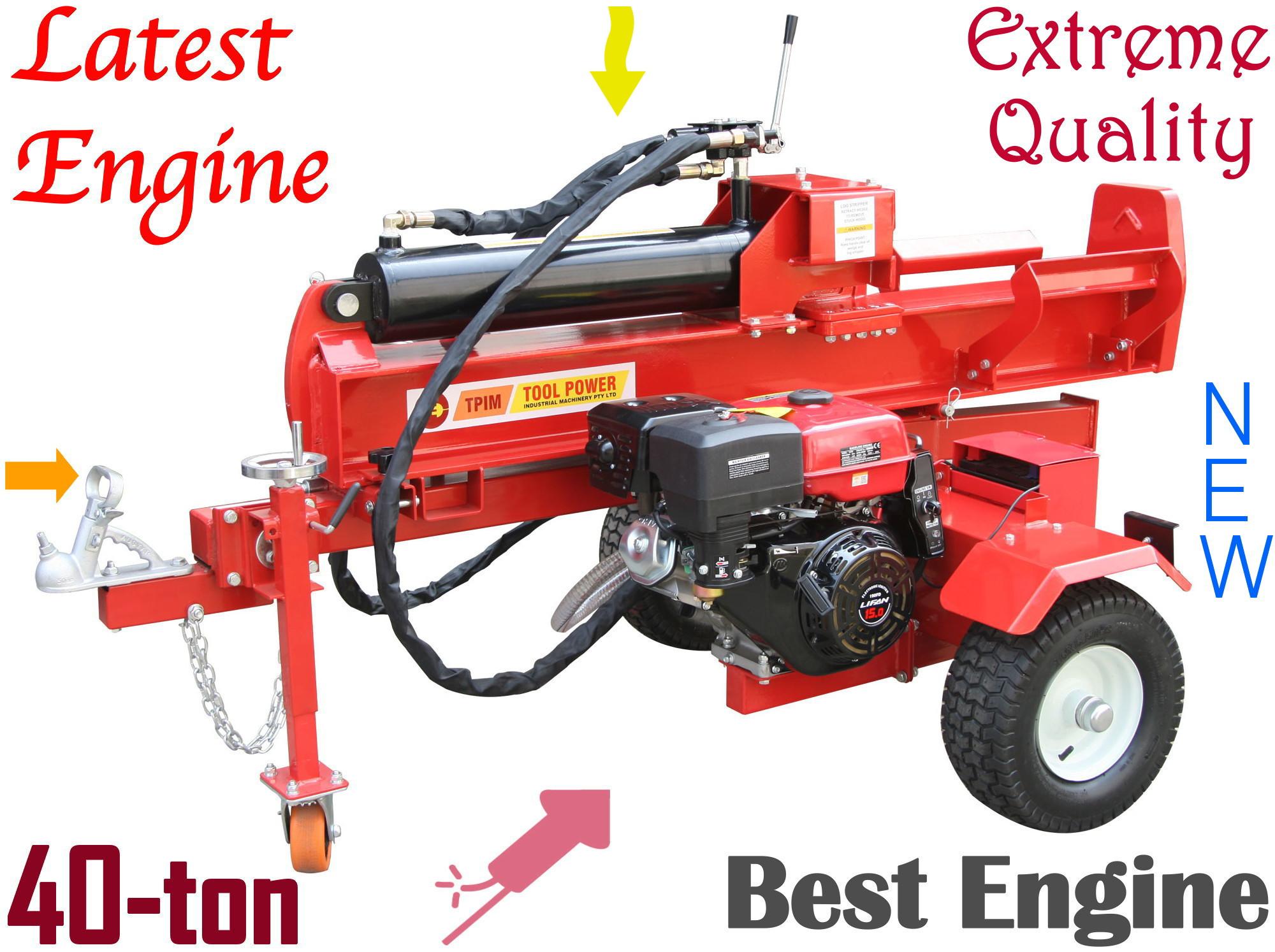 2a6b45f428b6 Log splitter TOOL POWER 40-ton, 15-hp Electric Start - TPIM