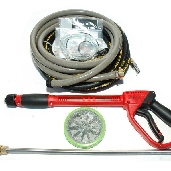 Pressure Cleaner, Water Blaster, 15hp DIESEL, Turbo + 18m hose-1725