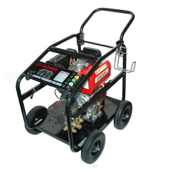 Pressure Cleaner, Water Blaster, 15hp DIESEL, Turbo + 18m hose-1718