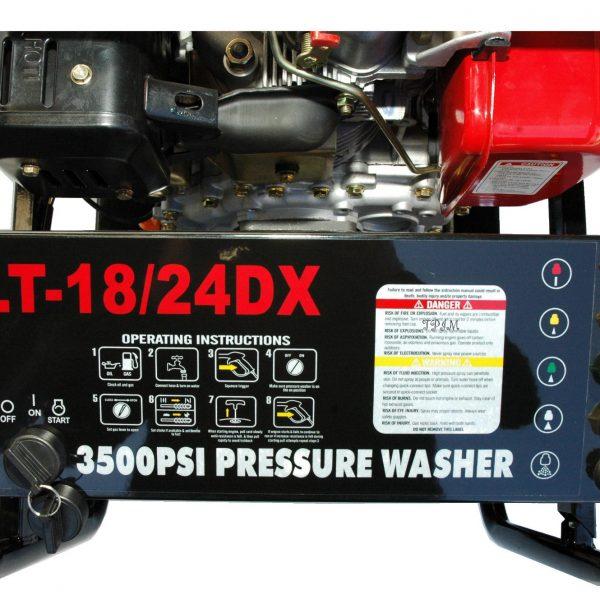 Pressure Cleaner, Water Blaster, 15hp DIESEL, Turbo + 18m hose-1722