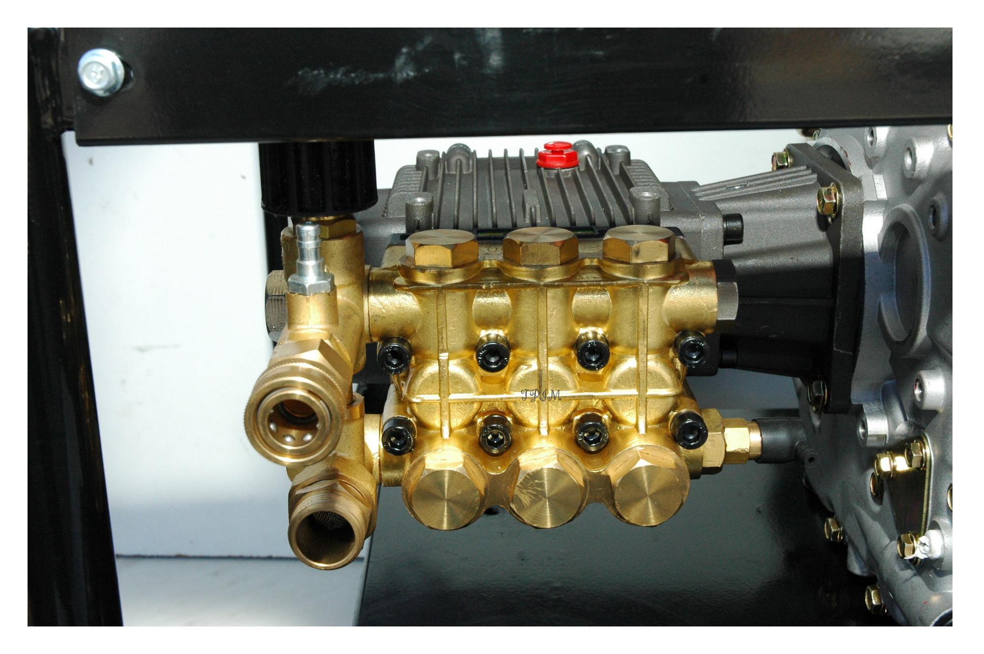 Pressure Cleaner, Water Blaster, 15hp DIESEL, Turbo + 18m hose-1720