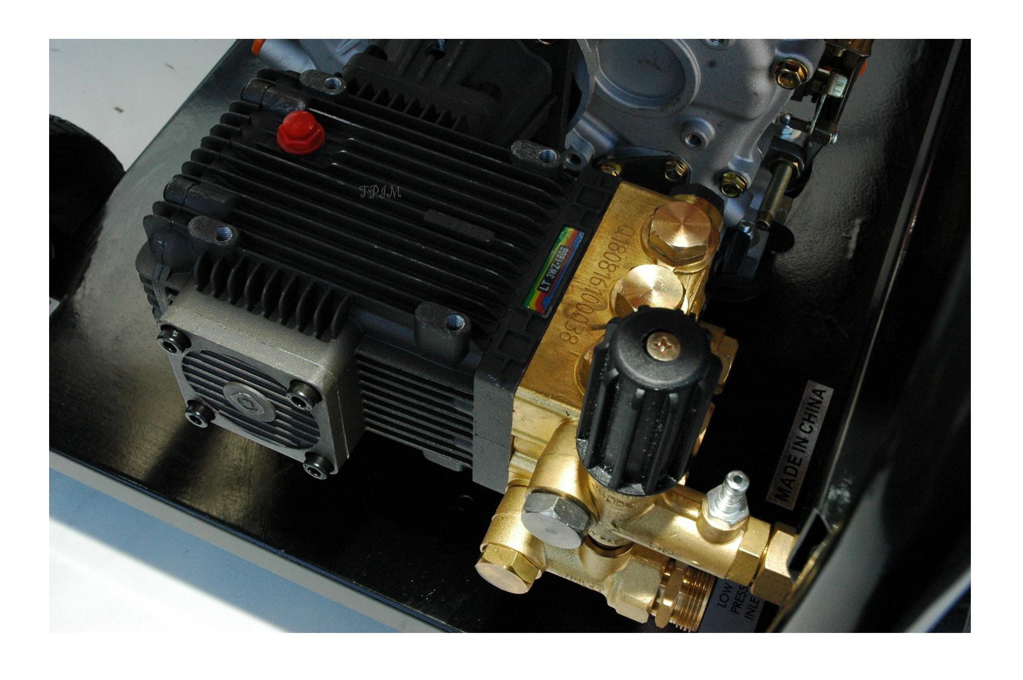 Pressure Cleaner, Water Blaster, 15hp DIESEL, Turbo + 18m hose-1724