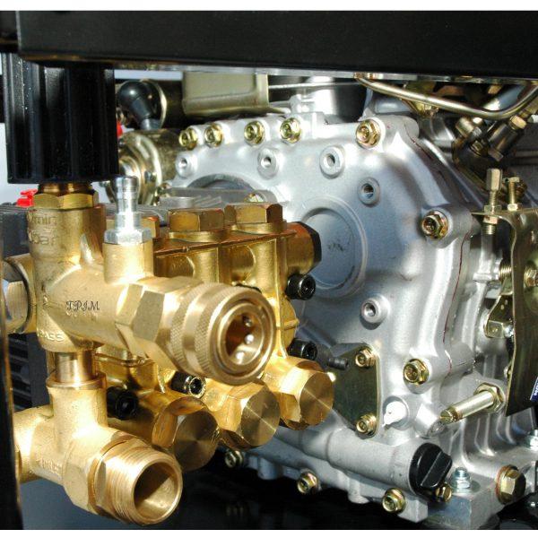 Pressure Cleaner, Water Blaster, 15hp DIESEL, Turbo + 18m hose-1723