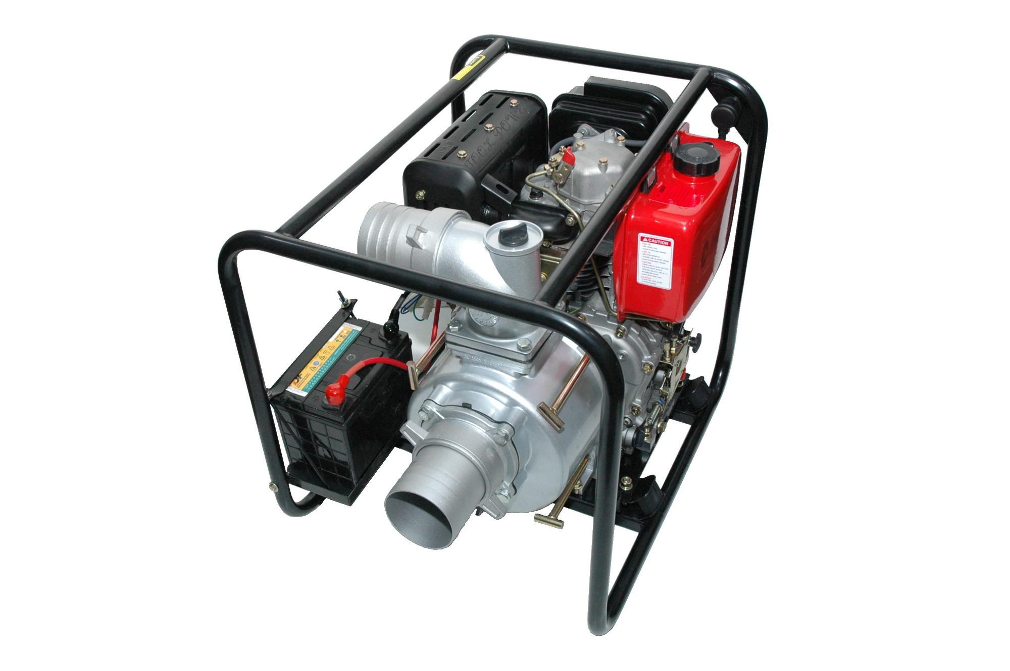 10 hp trash pump