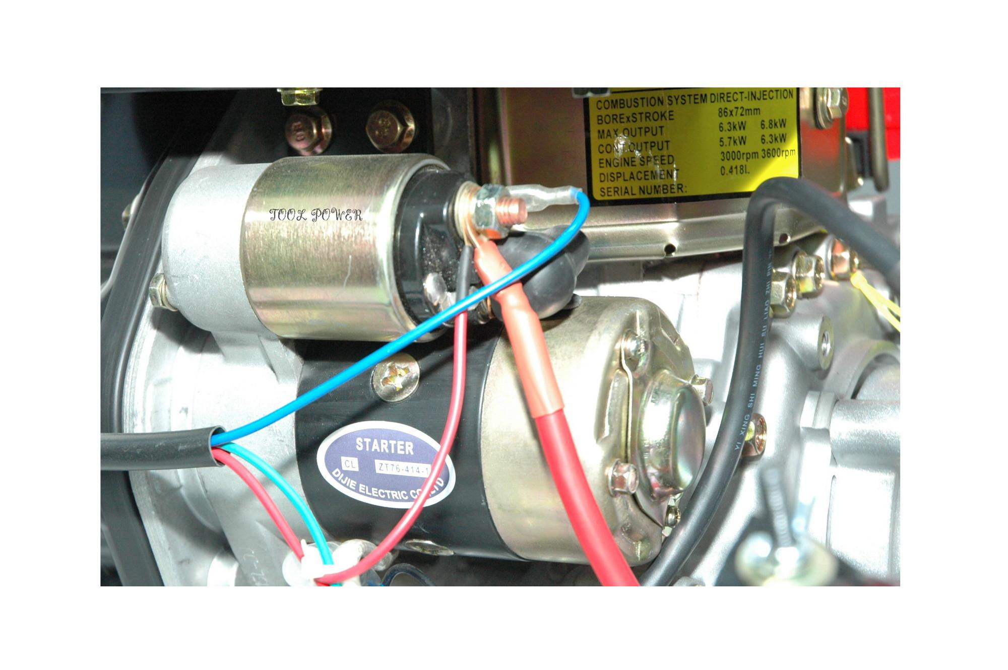 Trash pump diesel