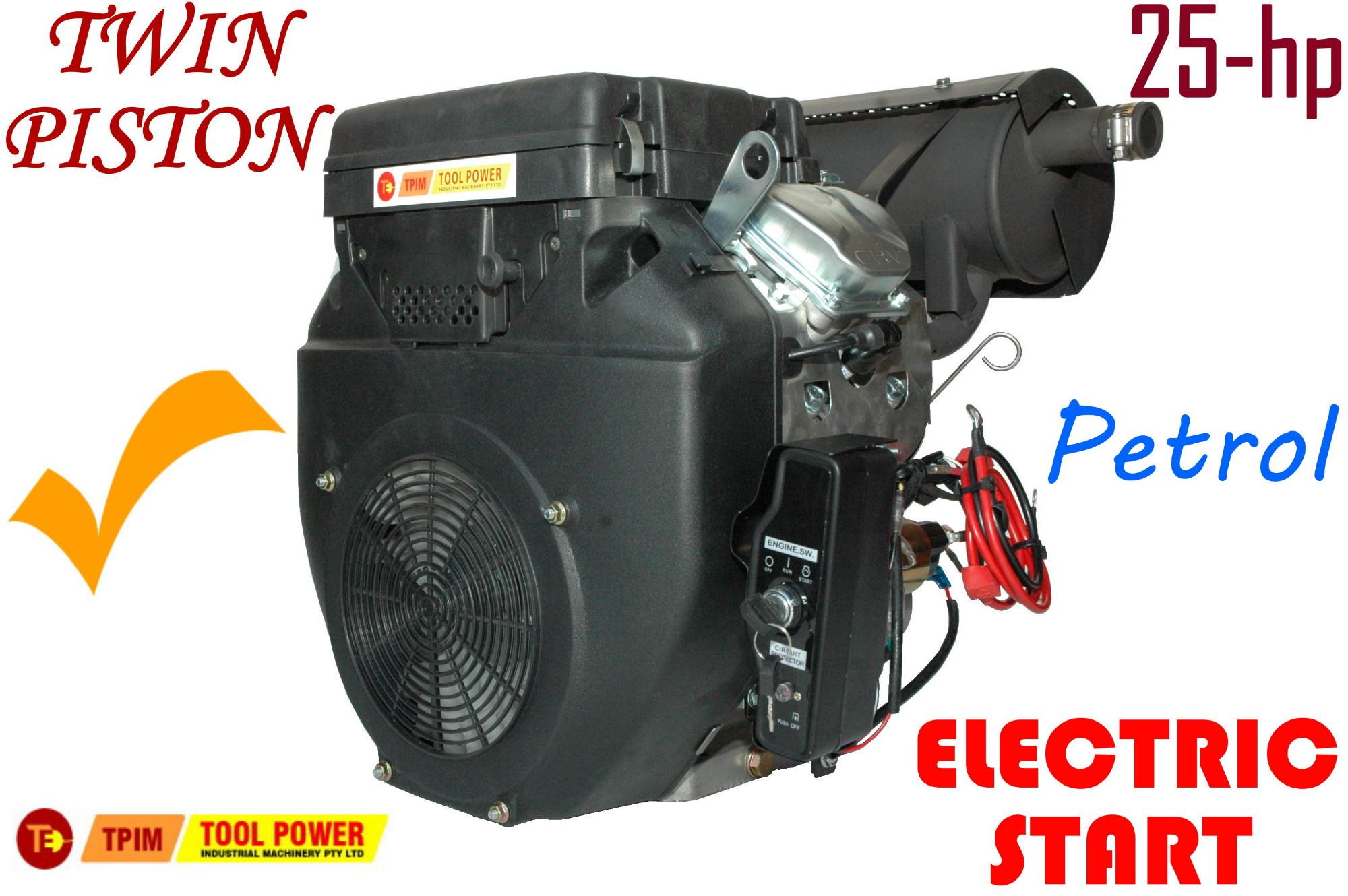 Engine 25 Hp Petrol Driven Engine Straight Shaft